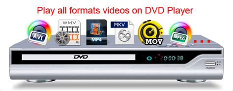 format needed for dvd player convert video for dvd player play mkv avi mov wmv m4v