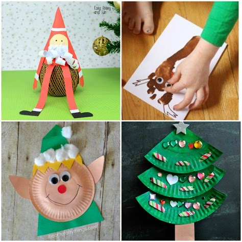 40 fun and simple christmas crafts for kids