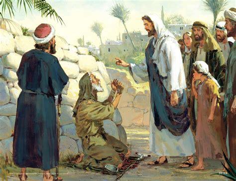 Blind Bartimaus Jesus Heals Blind Bartimaeus Group Bible Study