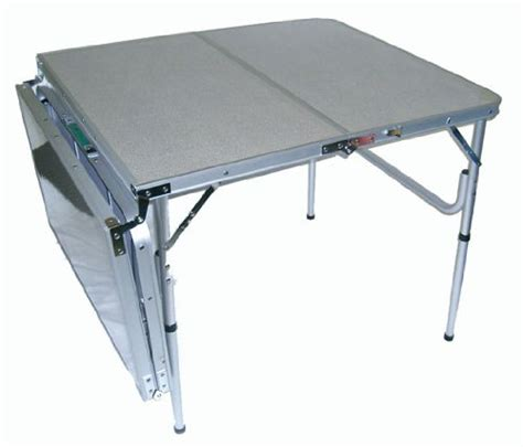 Portable Folding Tables by World Outdoor Products Original Quatro Four Six Person