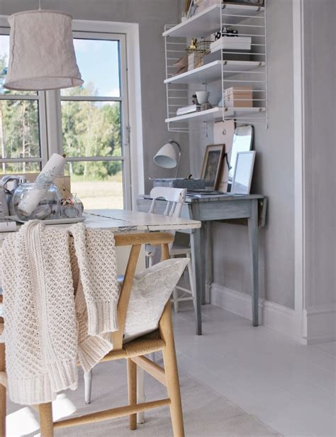 shabby chic style home office design ideas decoration