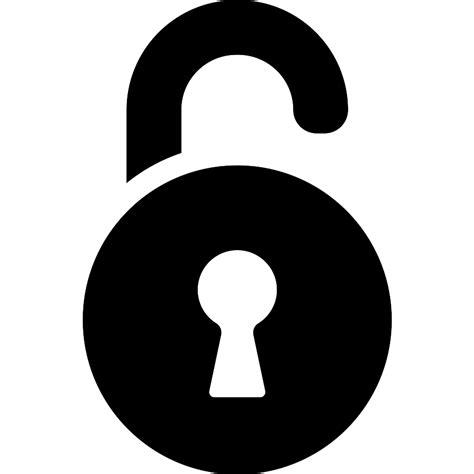 icone cadenas png unlocked padlock free icons