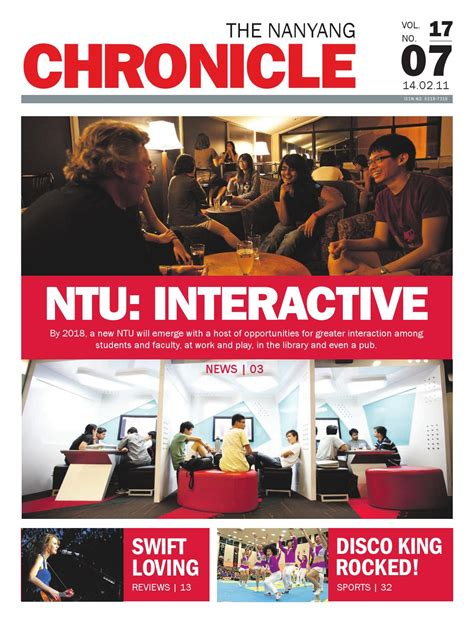 Ntu Mba Salary by The Nanyang Chronicle Vol 17 Issue 07 By Nanyang Chronicle
