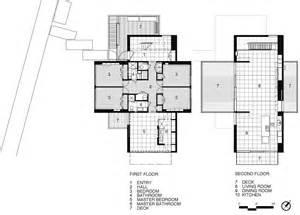 Kitchen Island Blueprints First Amp Second Floor Plan Beach Walk House Fire Island