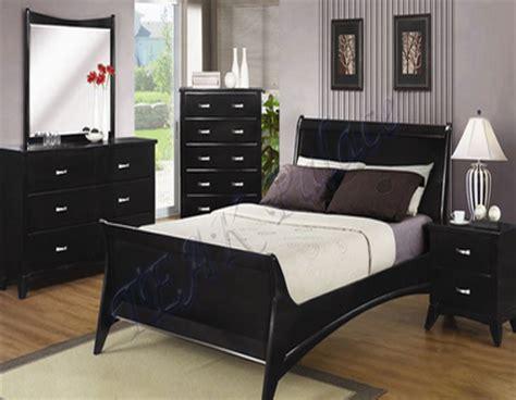 desain kamar tidur bernuansa hitam putih desain rumah