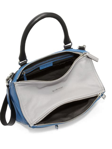 Givenchy Two Tone Purse by Givenchy Pandora Medium Two Tone Shoulder Bag In Blue Lyst
