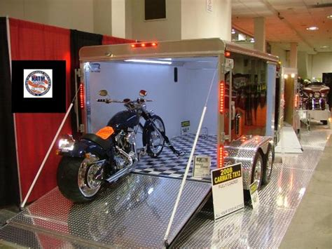 custom motorcycle trailer photos from car mate car mate