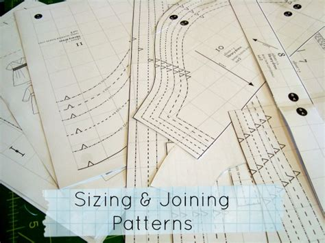 importance of pattern making pdf joining your sewing pattern templates