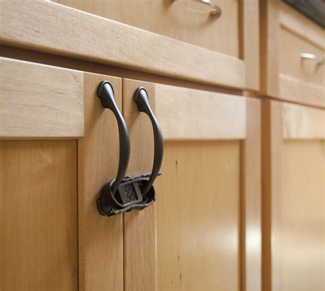 kitchen cabinet lock baby proofing cabinets without knobs roselawnlutheran