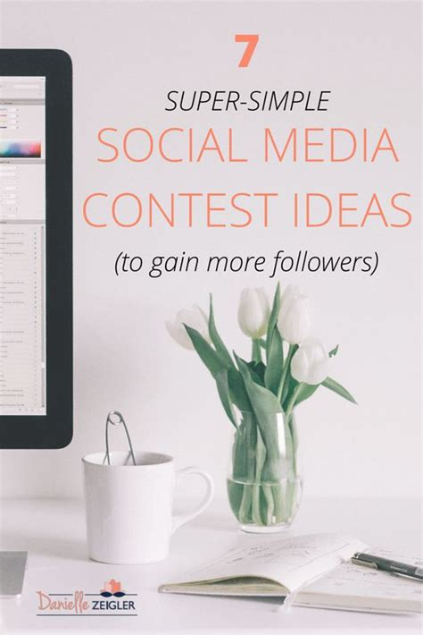 Social Media Giveaway Ideas - 7 super simple social media contest ideas to gain more followers pinterest social