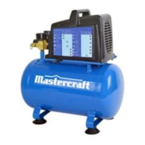 mastercraft 2 gallon air compressor canadian tire
