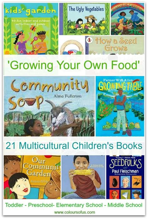 grow books multicultural children s books growing your own food
