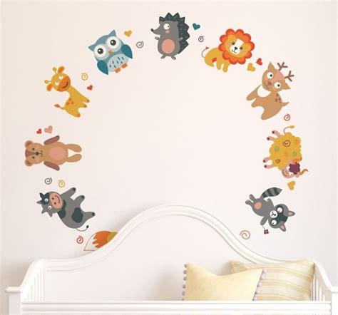 Deco Chambre Animaux by Stickers Muraux Pour D 233 Co De Chambre Enfant En 49 Photos