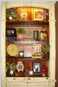 Decorated Bookshelves Painted Hutch Bookshelves Leave Inside Unpainted Paint