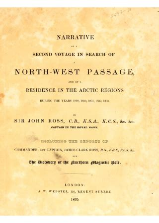 voyages in search of the west passage books narrative of a second voyage in search of a west