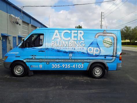 Plumbing Vans plumbing graphics images
