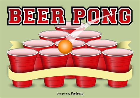 Beer Pong Template Background Download Free Vector Art Stock Graphics Images Free Pong Flyer Template