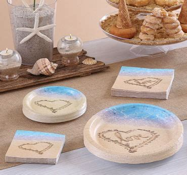 theme bridal shower plates and napkins wedding reception supplies wedding reception tableware city