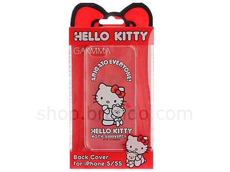 Limited Edition Magic Saw High Quality Murah iphone 5 5s hello 40th anniversary cuddle transparent limited edition
