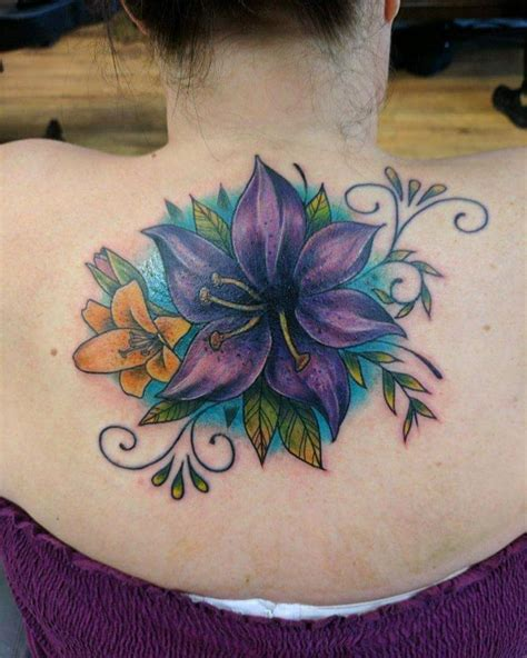tattoo flower show 80 lily flower tattoo designs meaning tenderness
