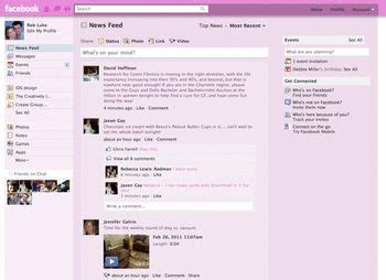 themes facebook userstyles pink facebook themes and skins userstyles org
