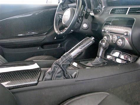 Carbon Fiber Camaro Interior interior 2010 11 camaro real carbon fiber console lid