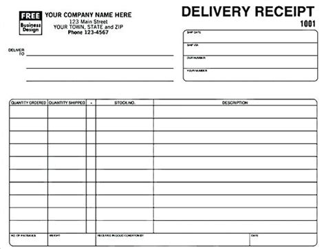 Tracking Receipts Template by Receipt Format Excel Payment Receipt Template Doc
