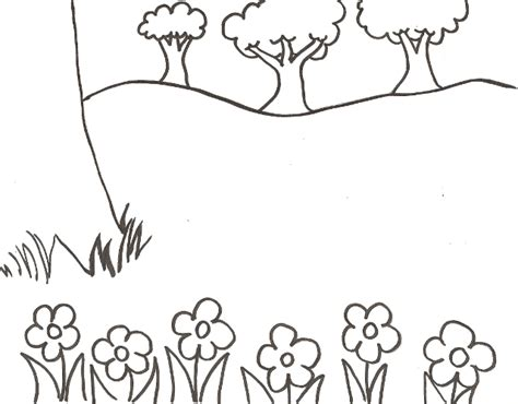 coloring pages of garden scene bug sticker scene coloring pages imagine