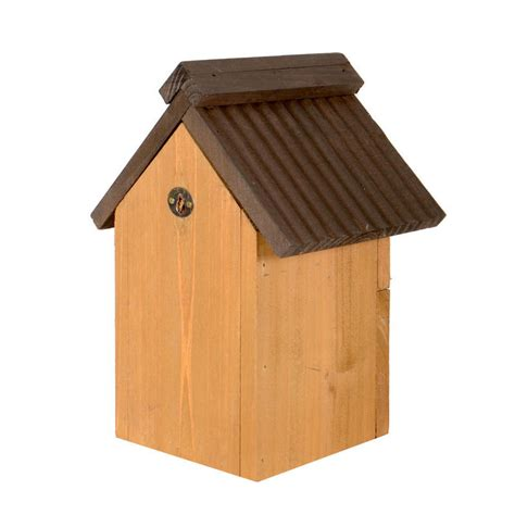 traditional wooden mulit style nesting garden bird box