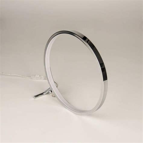 Ring Jalan 4 Cm s luce q ring led tischleuchte 30 cm chrom tischle led ringleuchte kaufen bei licht
