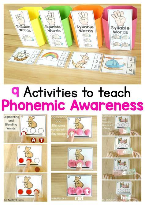 kindergarten activities phonemic awareness what is phonemic awareness and why teach it