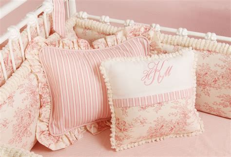 pink toile bedding doodlefish toile crib bedding pillows pink traditional