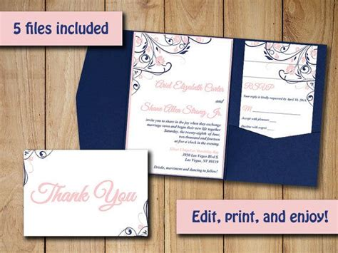 template for wedding invitation inserts free wedding invitation