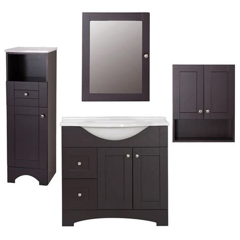 home depot bathroom vanities home combo