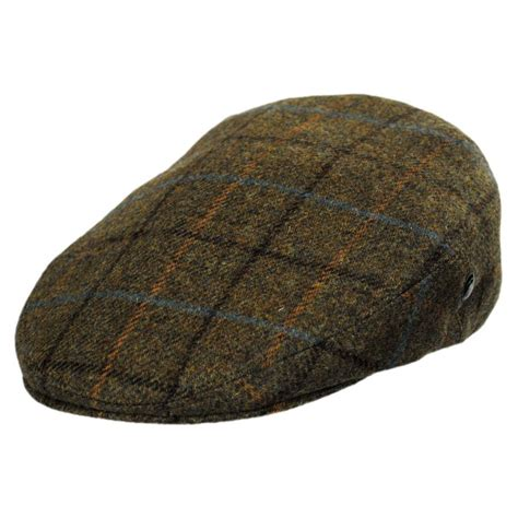 Wool Caps city sport caps and wool plaid cap khaki