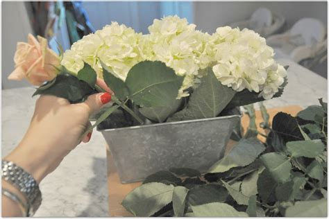 6 diy peony rose and hydrangea centerpieces for 50 hydrangea and rose diy centerpiece a lo and behold life