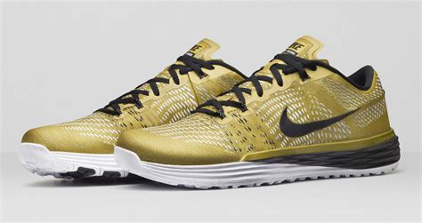 the sneakers nike made gold sneakers for the world s greatest athlete