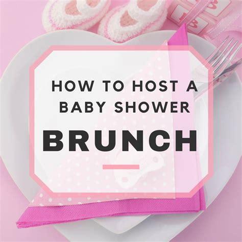 Baby Shower Brunch Menus by Baby Shower Brunch Ideas Sle Menu