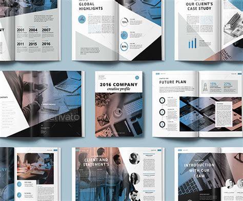 creative company profile layout 30 awesome company profile design templates web