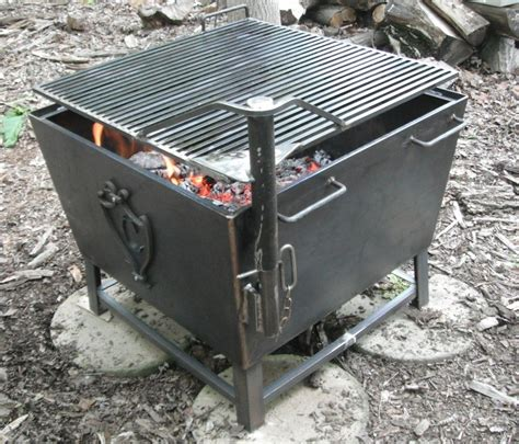 Cube Cowboy Fire Pit Grill Cowboy Fire Pits Grill Cowboy Firepit
