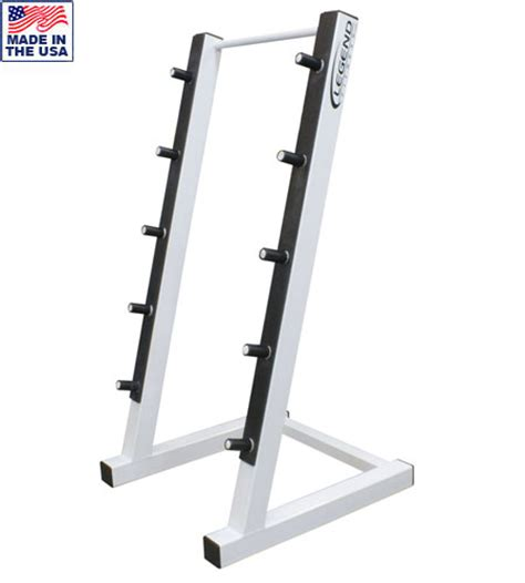 Barbell Rack by 5 Bar Commercial Horizontal Barbell Rack Legend Fitness