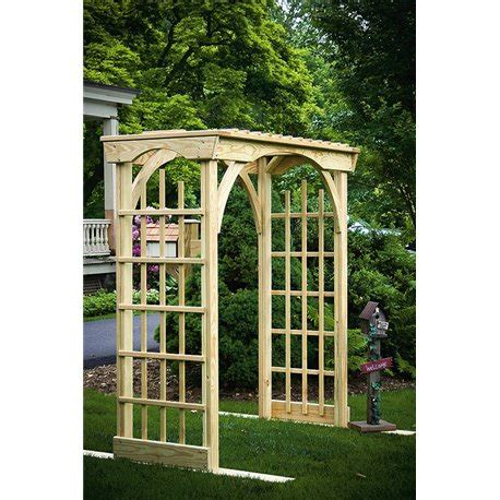 6 Foot Wide Trellis Decorative 6 Foot Arbor