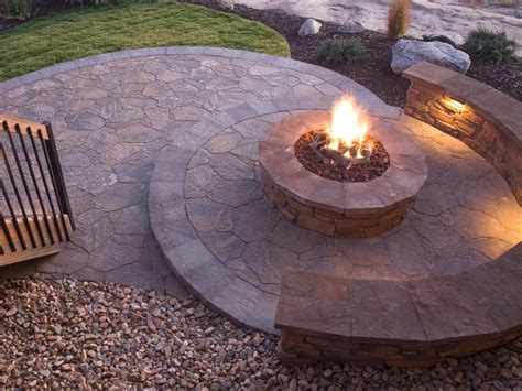 Outdoor Patio Firepit How To Plan For Building A Pit Hgtv