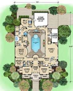 floor plans with pool in the middle pool house plans on pinterest pool houses pools and