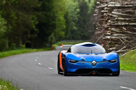 renault alpine concept renault alpine concept debuts at monaco gp
