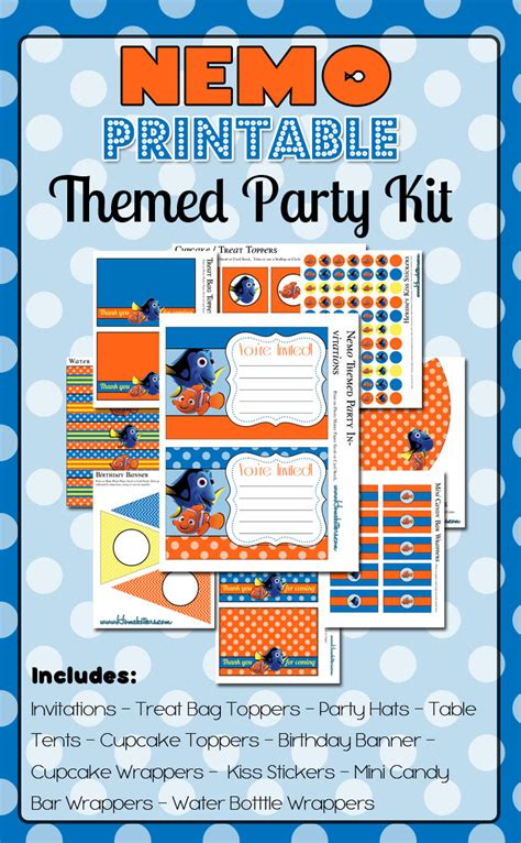 Finding Addresses Of For Free Finding Nemo Printables Free