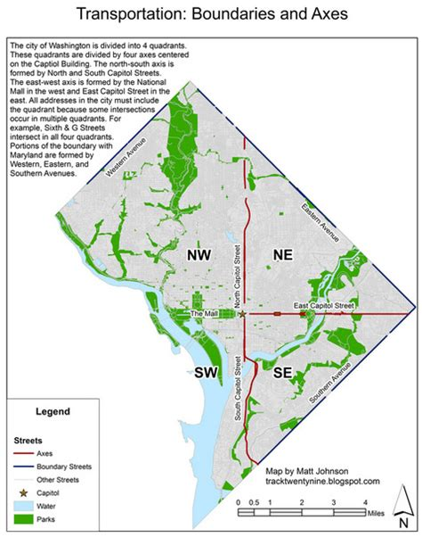 washington dc map quadrants washington s systemic streets greater greater washington