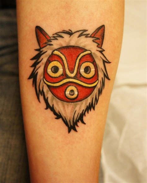 princess mononoke tattoo 466 best images about tattoos miyazaki on