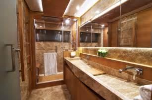 electra superyacht master cabins bathroom yacht