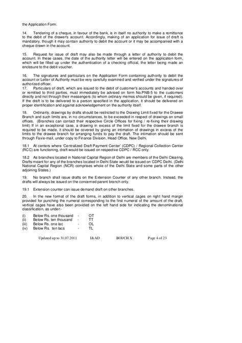 Request Letter Demand Draft revalidation of demand draft letter format letter format
